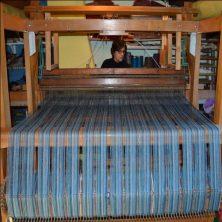 l'atelier de tissage